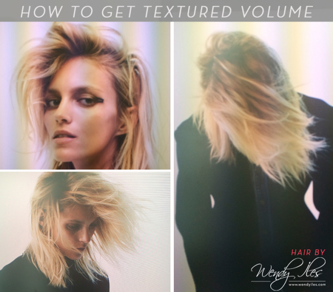 Hair How To: Get Textured Volume