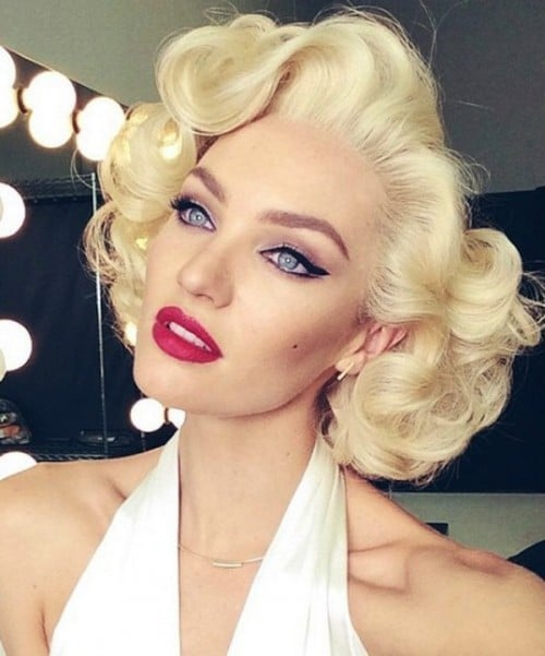 Marilyn Monroe Quot How To Get Her Iconic Hairstyle Quot Iles