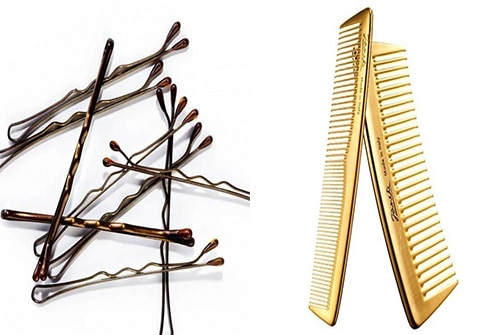 pins and comb