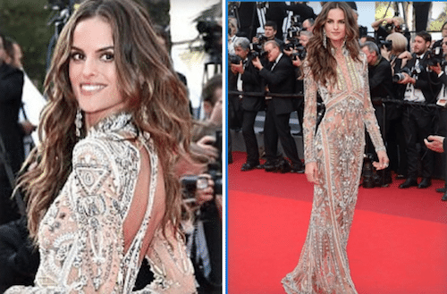 How To Get Izabel Goulart\'s hairstyles from Cannes Film Festival