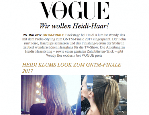 VogueGerman-gives-Wendy's How To on Heidi Klums-volume-style-forGNTM