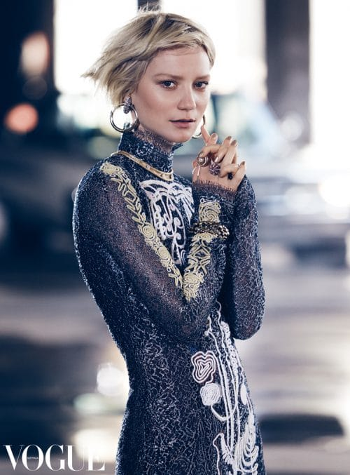 Iles Formula Hair Talk With Kathy Gilbert & Mark Jones Mia Wasikowska for Vogue Australia by Kathy