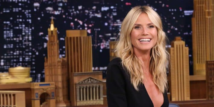 5 Steps to Get Heidi Klum's Voluminous Waves by ELLE
