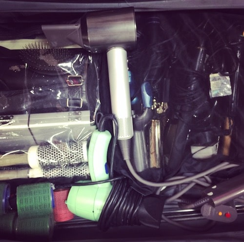 What's In Wendy Iles' Hair Bag?