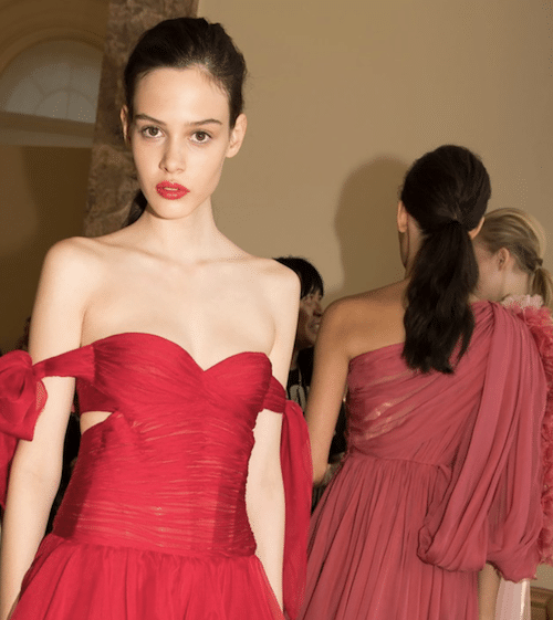 The Ponytail Dominates Paris Haute Couture 2017