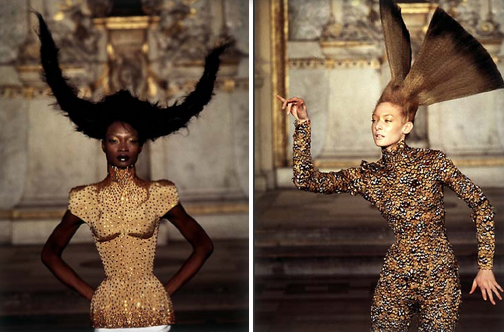 Tribute to Couture's Best Avant-Garde Hair Looks