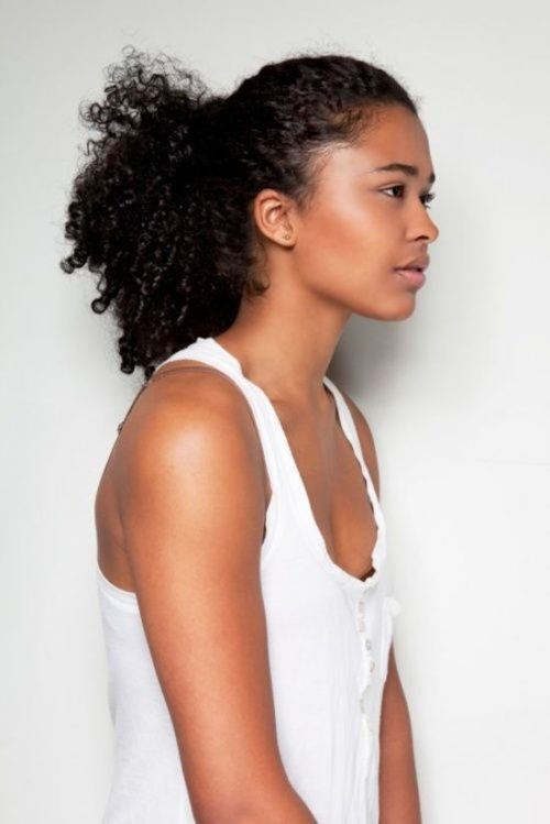 Quick Naturally Curly Hairstyles For The Busy Woman