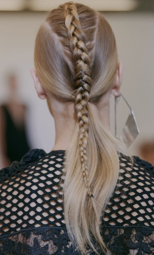 Braid + Ponytail: The Perfect Hairstyle For The 4th Of July