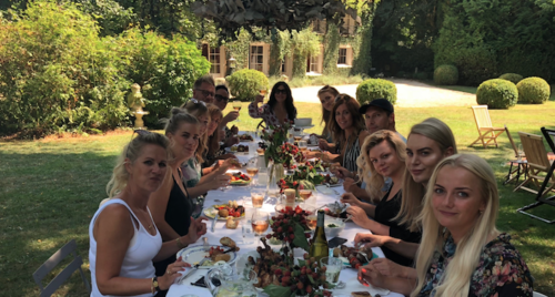 Sunday Brunch With Wendy Iles In Her French Garden
