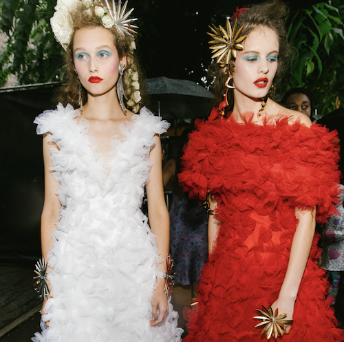 A Backstage Glimpse at NYFW Spring 2019