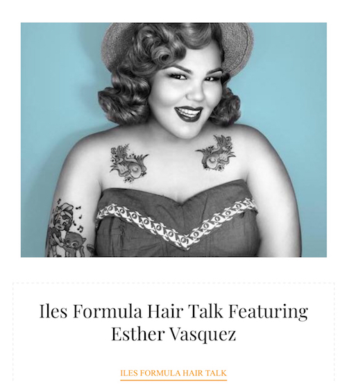 A Tribute To Our 2018 Iles Formula Hair Talk Guests