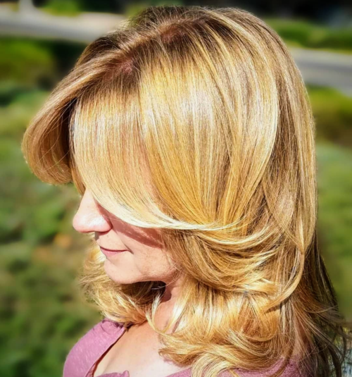 Blonde medium layers outdoor by Jarrod Fisher