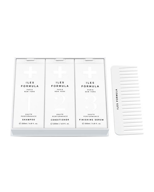 Management Of Hair Loss Signature hair care box with comb