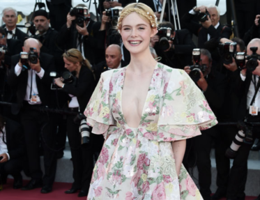 Elle Fanning at Cannes Film Festival 2019