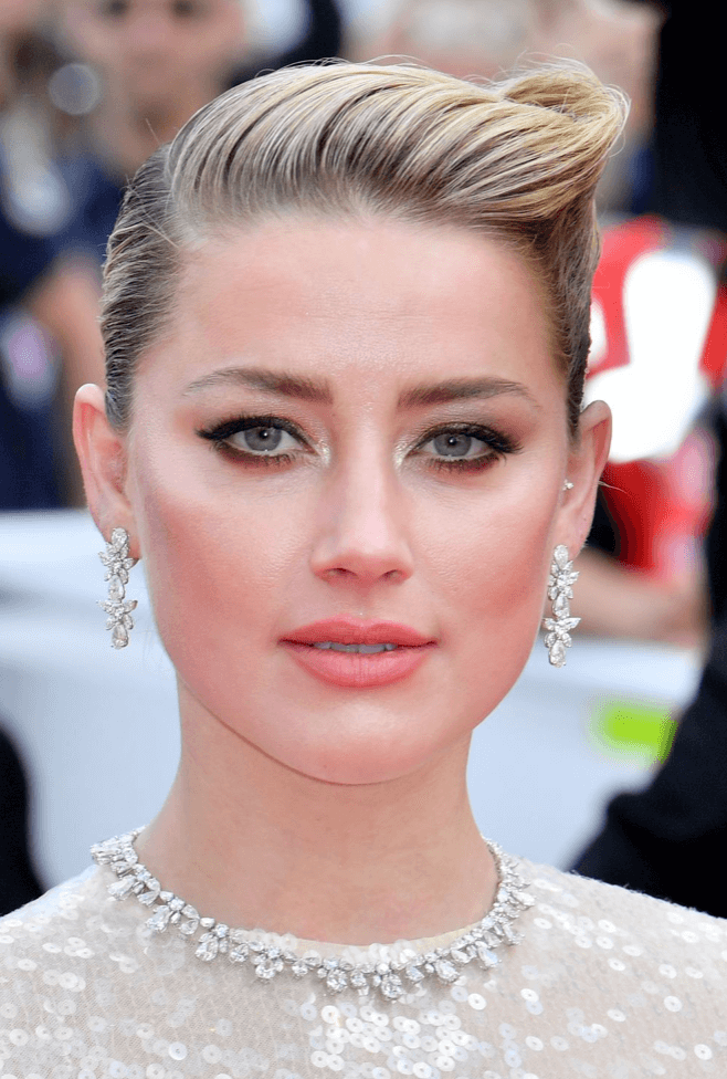 Amber Hearst clean up do hairstyle at Cannes Film Festival 2019