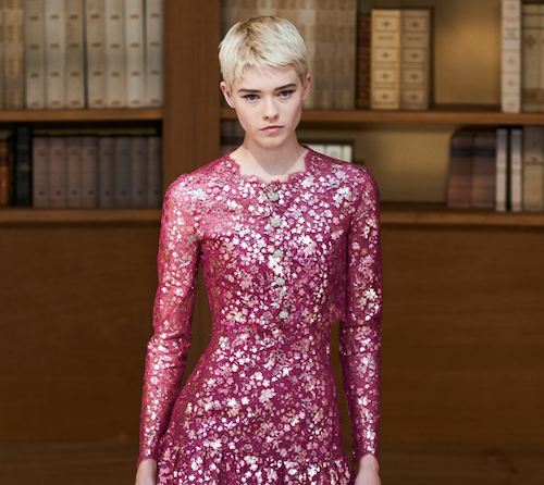 Chanel hair - The Best Hair Of Paris Couture Fashion Week 2019 - fashionable librarians - red dress