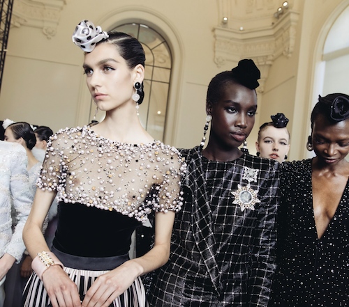 Armani Prive hair - The Best Hair Of Paris Couture Fashion Week 2019 - elegant hairstyle