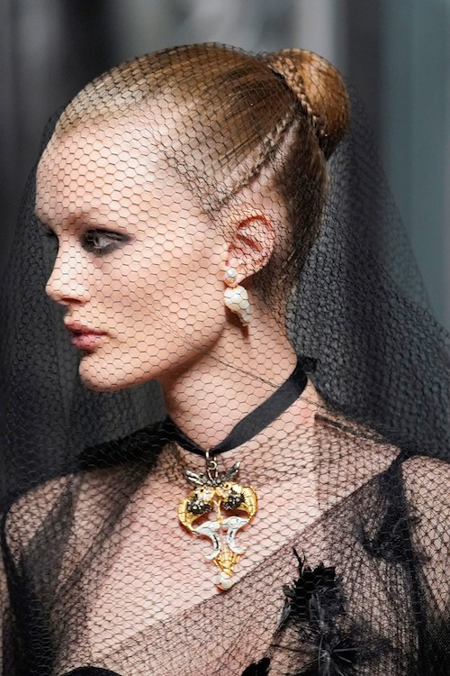 Dior hair -haute-couture - Hair by Guido Palau -The Best hair of Paris Couture Fashion Week 2019
