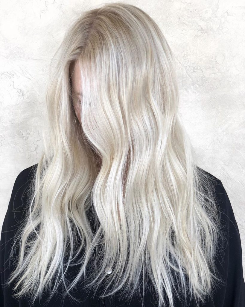Creamy blonder - hair color 2019 - fall color 2019