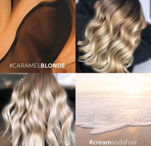 Caramel Highlights - hair color 2019 - fall color 2019 - female short hair - shoulder lenght hair