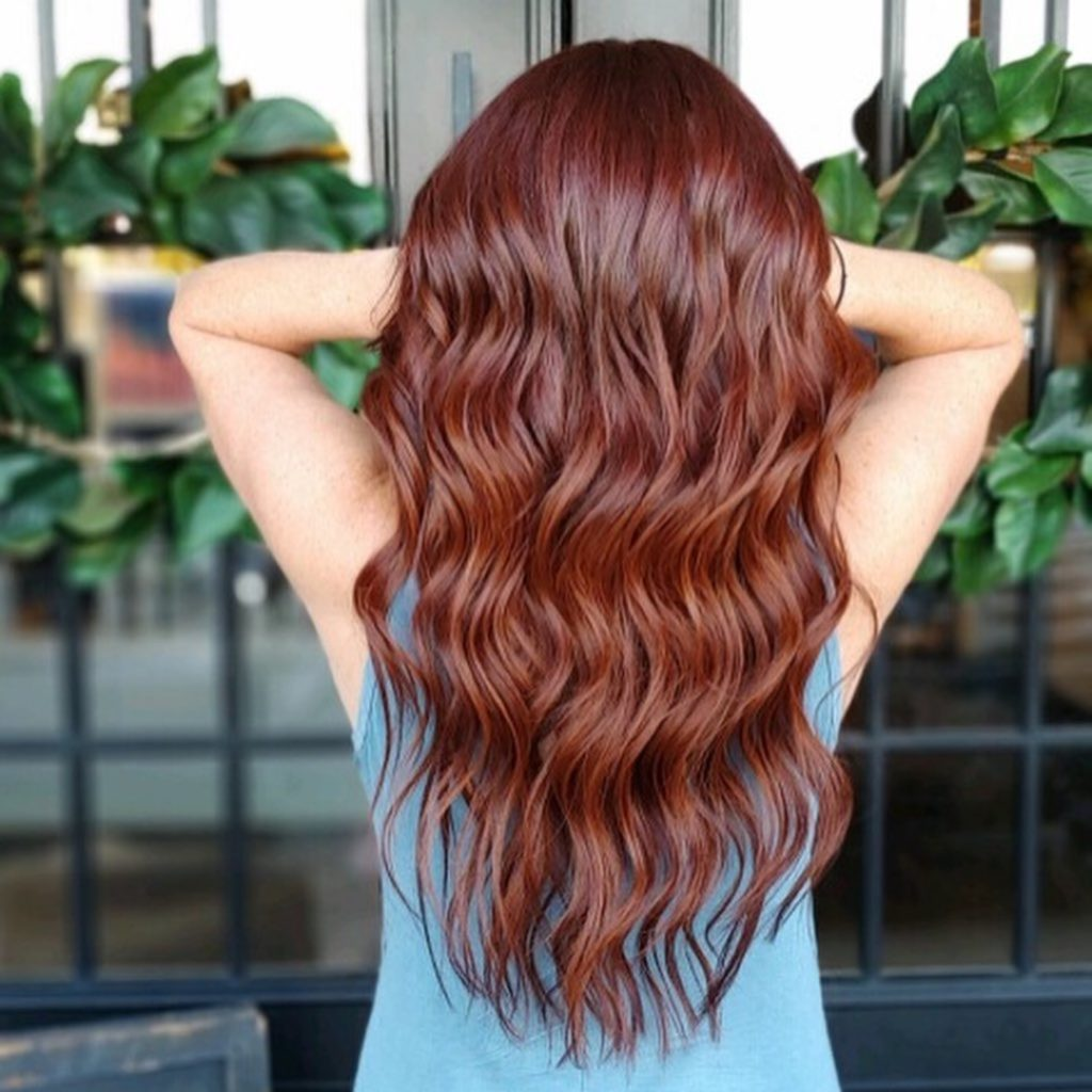 mulled wine - red hair color - fall color 2019