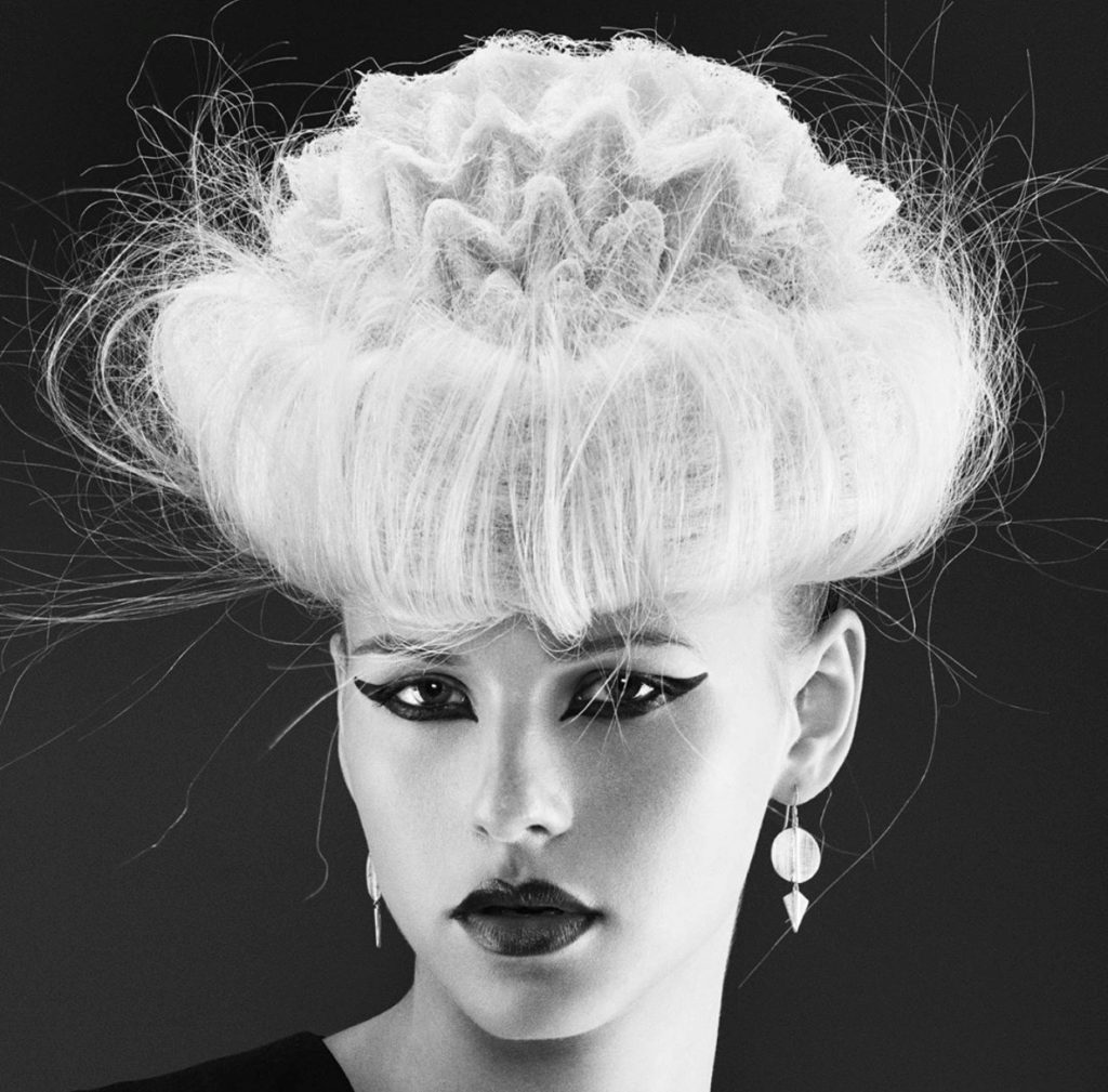 Iles Formula hair talk | Sharon Blain work 9 - black and white photo