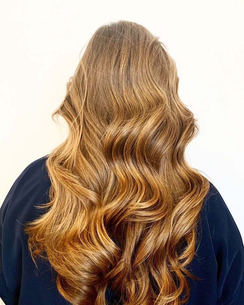 Tara Neh from Archer Salon San Francisco - blonde wavy long hair