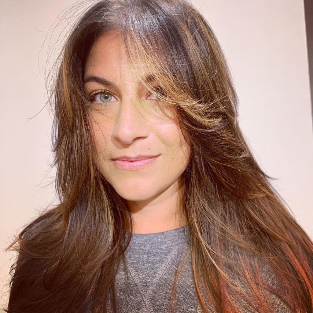 Tara Neh from Archer Salon San Francisco - brunette wavy long hair