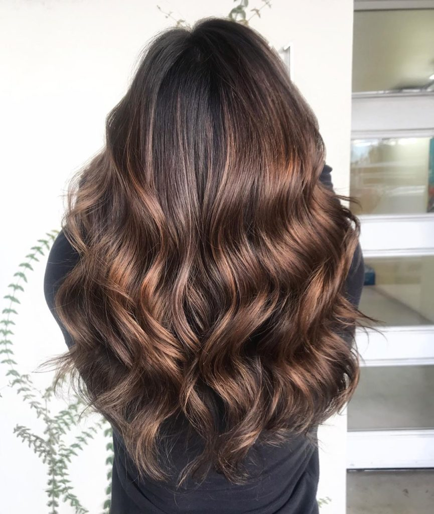 Iles Formula's Hair Ideas: 5 Spectacular 2020 Hair Color Trends for Everyone - 2020 hairstyle trend - Brown Hair - Chocolate Brown - wavy hair