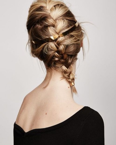 French Braid- Valentine's day - hairstyle - Iles Formula Hair Ideas: 7 Quick-win Hair Styles for your Valentine's Day