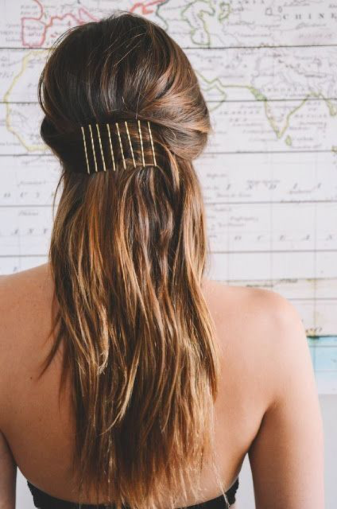 bobby pins - hairstyles- Valentine's day - hairstyle - Iles Formula Hair Ideas: 7 Quick-win Hair Styles for your Valentine's Day