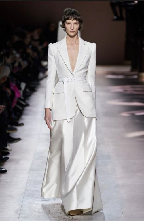 givenchy - Paris Haute Couture Hair Trends 2020 - work look