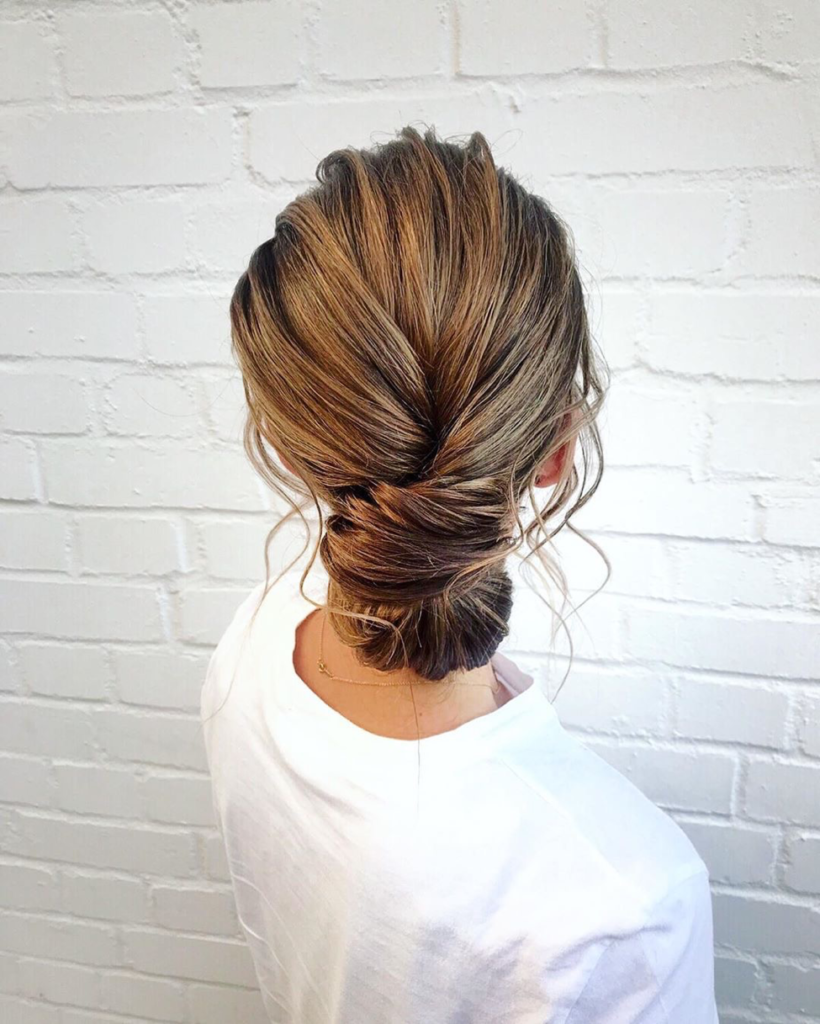 Low bun hairstyle - - Valentine's day - hairstyle - Iles Formula Hair Ideas: 7 Quick-win Hair Styles for your Valentine's Day