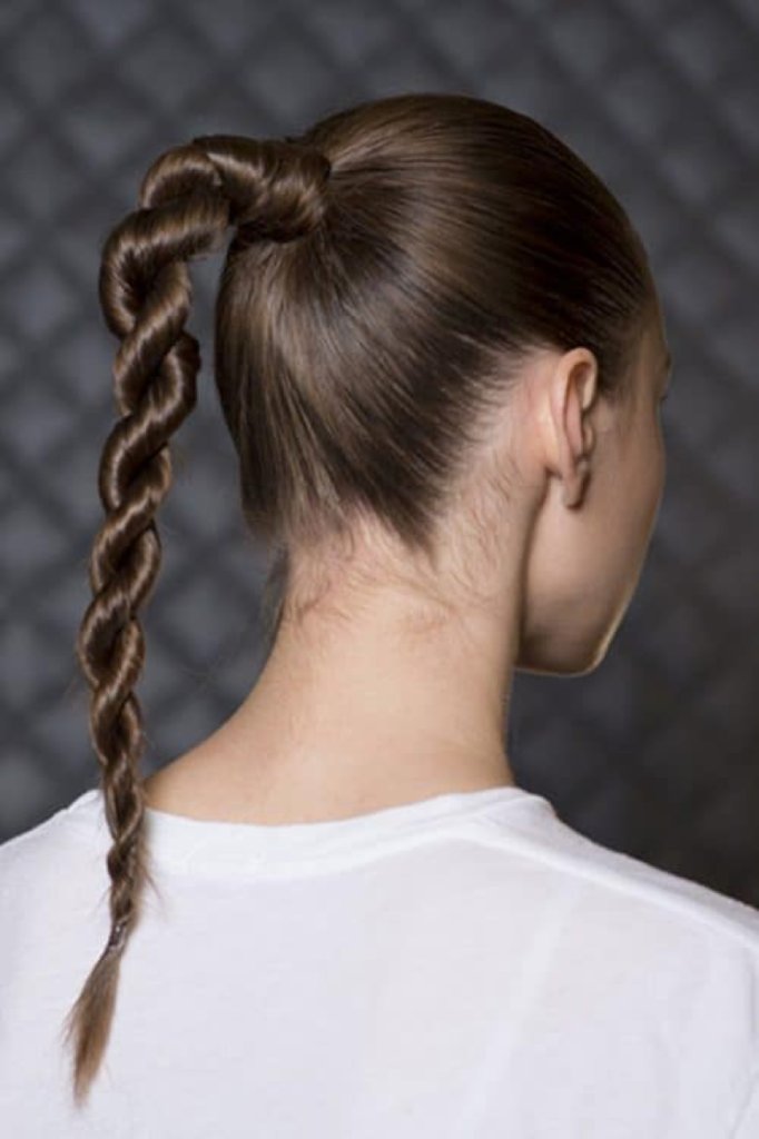 Rope braid - Valentine's day - hairstyle - Iles Formula Hair Ideas: 7 Quick-win Hair Styles for your Valentine's Day
