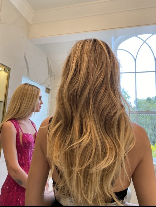 Getting Heidi Klum Ready For The After Oscar Parties 2020   IMG 3654 e1581600813784