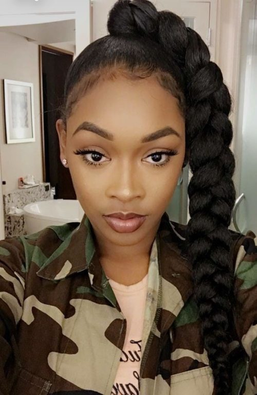 4 low maintenance hairstyles for Black Women - black women - low maintenance haircuts - low maintenance hairstyles - black women hairstyles ​- Hairstyles for black women - low maintenance short haircuts - haircut ideas - braid