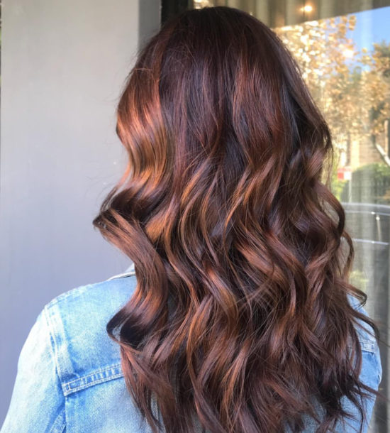 Tips for Care Balavage Hair at Home - Balayage - Long hair - Light Ash Brown - Rose Gold - balayage - highlights