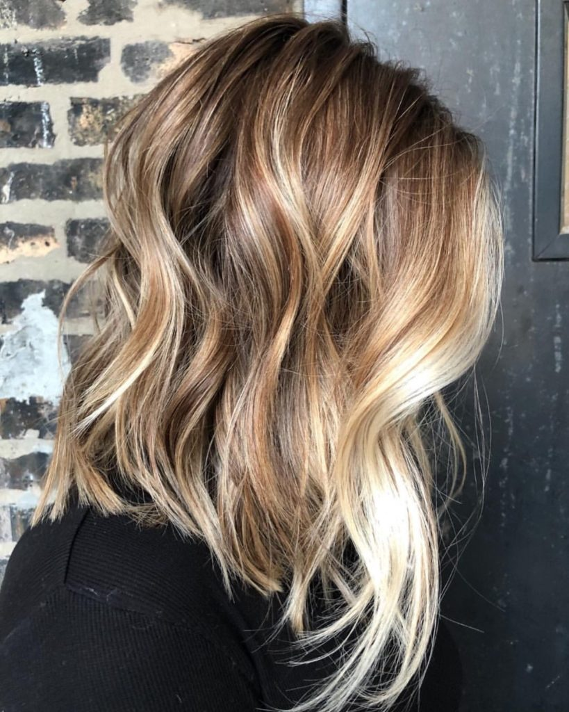Tips for Care Balavage Hair at Home - Balayage - Medium Length -Bleach - Ash Blonde - balayage - highlights