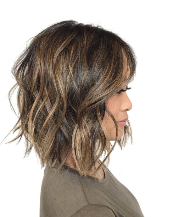 Tips for Care Balavage Hair at Home - Balayage - Medium length - Light Brown - Caramel - balayage - highlights