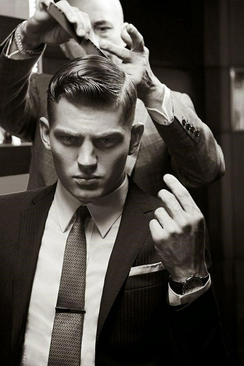 quiff - men hairstyles - suit - Classic Hairstyles that are Forever on Trend