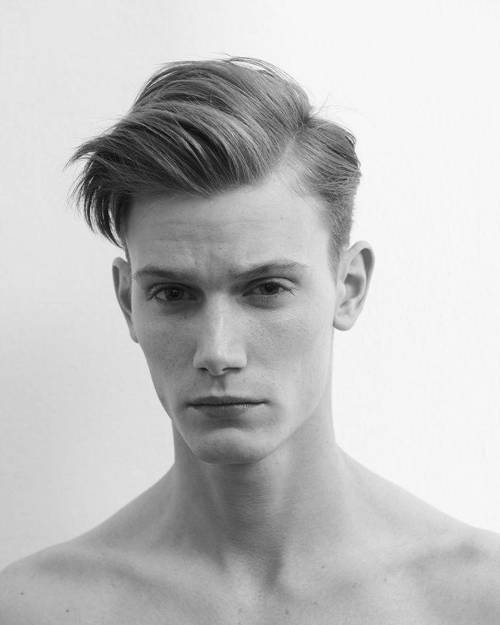 side parting - men hairstyles - Classic Hairstyles that are Forever on Trend